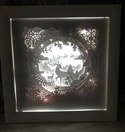 Image result for cricut shadow box