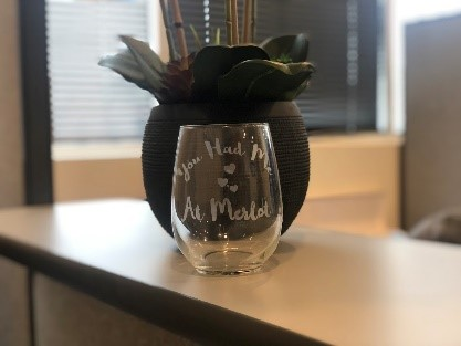 etched glass project